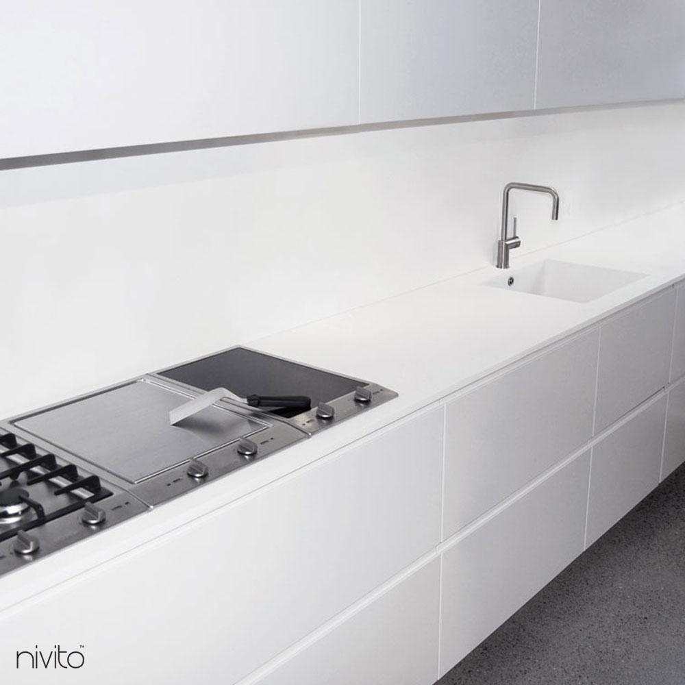 Kartáčovaný ocel voda kohoutek
