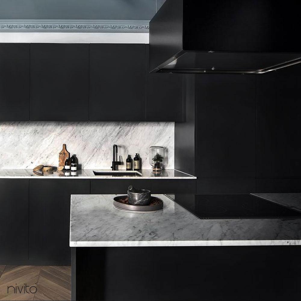 černá kuchyne baterie kohoutek