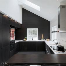 Kuchyne voda kohoutek černá