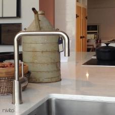 Z Nerezové Oceli Kuchyňský Vodovodní Baterie - Nivito 3-RH-300