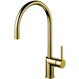 Mosaz/zlato Kuchyňský Vodovodní Baterie - Nivito RH-140