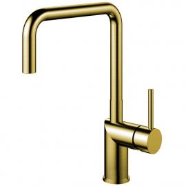 Mosaz/zlato Kuchyňský Vodovodní Baterie - Nivito RH-340