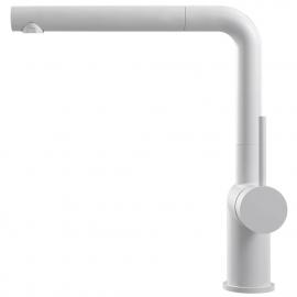 Bílá Kuchyňský Kohoutek Rozkládací hadice - Nivito RH-630-EX
